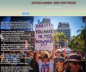 Political Blog site